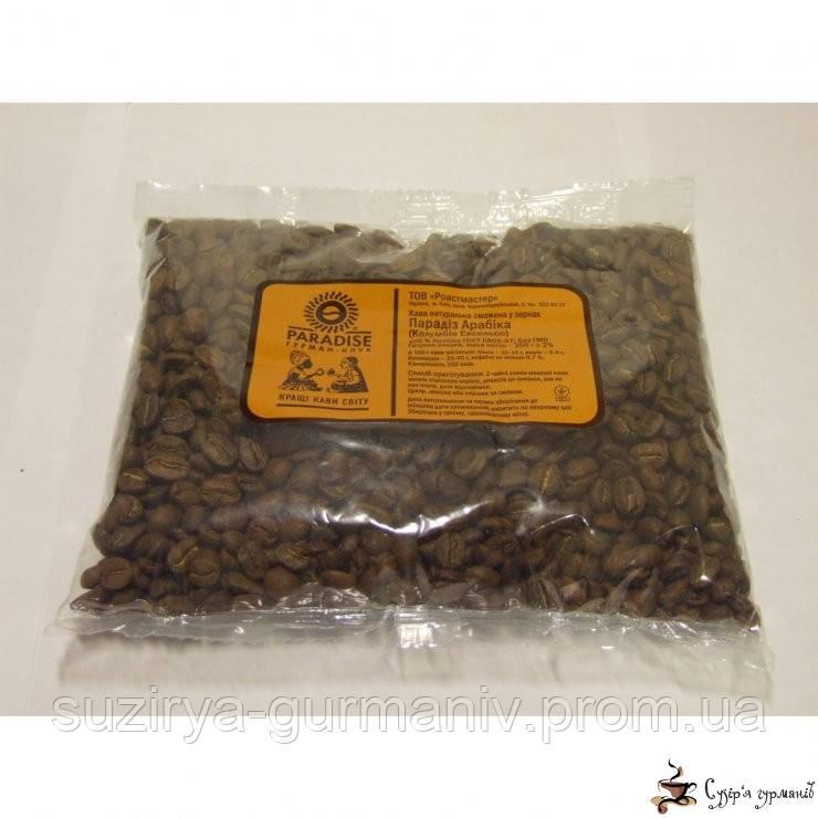 Кофе в зернах Парадиз Арабика «Колумбия Ексельсо»