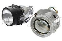 """Биксеноновые линзы Infolight Ultimate + 50% LIGHT G5 2,5"""" (⌀64мм) H1 маски с """"ангельскими глазками"""" CCFL, фото 1"""