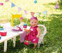 """Набор для кукол Baby Born """"День рождения"""" - одежда, торт ZAPF CREATION.820681, фото 1"""