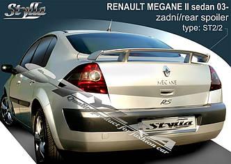 Спойлер Renault Megane sedan (2003-...)