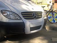 Mercedes Vito 639 Передняя губа под покраску 2004-2010