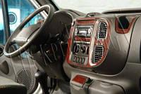 Ford Tranzit 2000-2006 накладки на панель цвет дерево