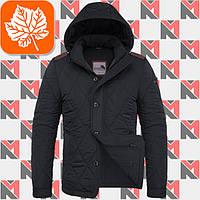 Мужская куртка осенняя Braggart - 1275 черный