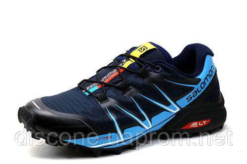 Кроссовки мужские Salomon Speedcross III, темно-синие