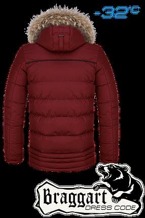 Мужская красная зимняя парка Braggart арт. 3119, фото 2