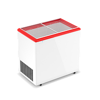 Морозильные лари FROSTOR MAX ELEGANCE с наклонным гнутым стеклом F 450 E MAX