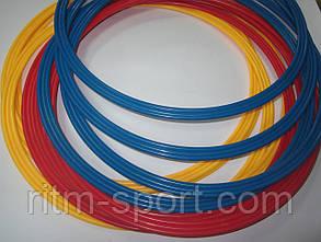 Кольца тренировочные  (пластик, d-40 см, в комплекте 12 шт.) , фото 2