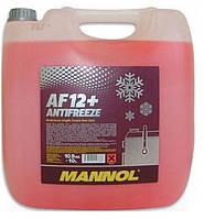 Антифриз Mannol Longlife  AF12+ концентрат красный 10л