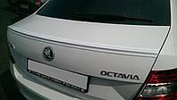 Спойлер сабля тюнинг Skoda Octavia A7 в стиле Milotec
