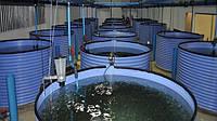 Резервуары из пропилена для выращивания рыбы