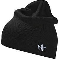 Шапка Adidas Originals AC Logo зимняя мужская черная Z49701