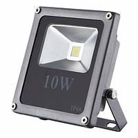 Светодиодный прожектор 10Вт, 800Лм, 6500К холодный белый STANDART (slim) LEDEX