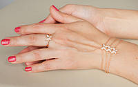 Слейв браслет Бабочка, фото 1