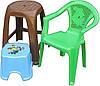 Табурети, стільці