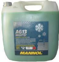 Антифриз Mannol Hightec  AG13 концентрат зеленый 10л