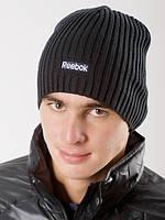 Черная шапка классика Reebok Logo Beanie K26538