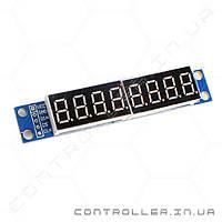 MAX7219 - Модуль дисплей из восьми семисегментных индикаторов