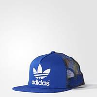 Кепка стильная Adidas Originals Flat-Brim Street AB3966 прямой козырек