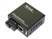 Мини-медиаконвертер TK-link middle  10/100mb 1550 1SC.WDM+1RJ45