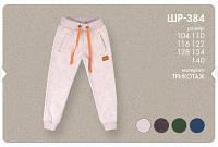 Спортивные штаны для мальчика интерлок утепленные на флисе, 134,140 рр