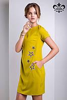 """Женское платье """"Зарина"""" (оливковый), фото 1"""