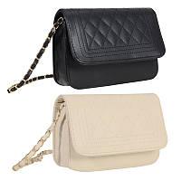 Женская стеганая маленькая сумочка. Женский клатч в стиле CHANEL BOY, фото 1