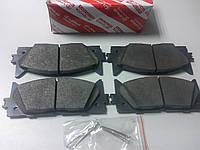 Колодки тормозные передние (оригинальные) на Toyota Camry, Avalon/Lexus ES