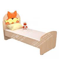 """Кровать детская одноместная """"Лисичка"""""""