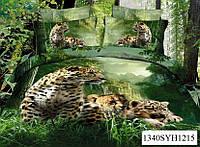 Постельное белье сатин-3D 200х220см Н1215 евро Word of Dream