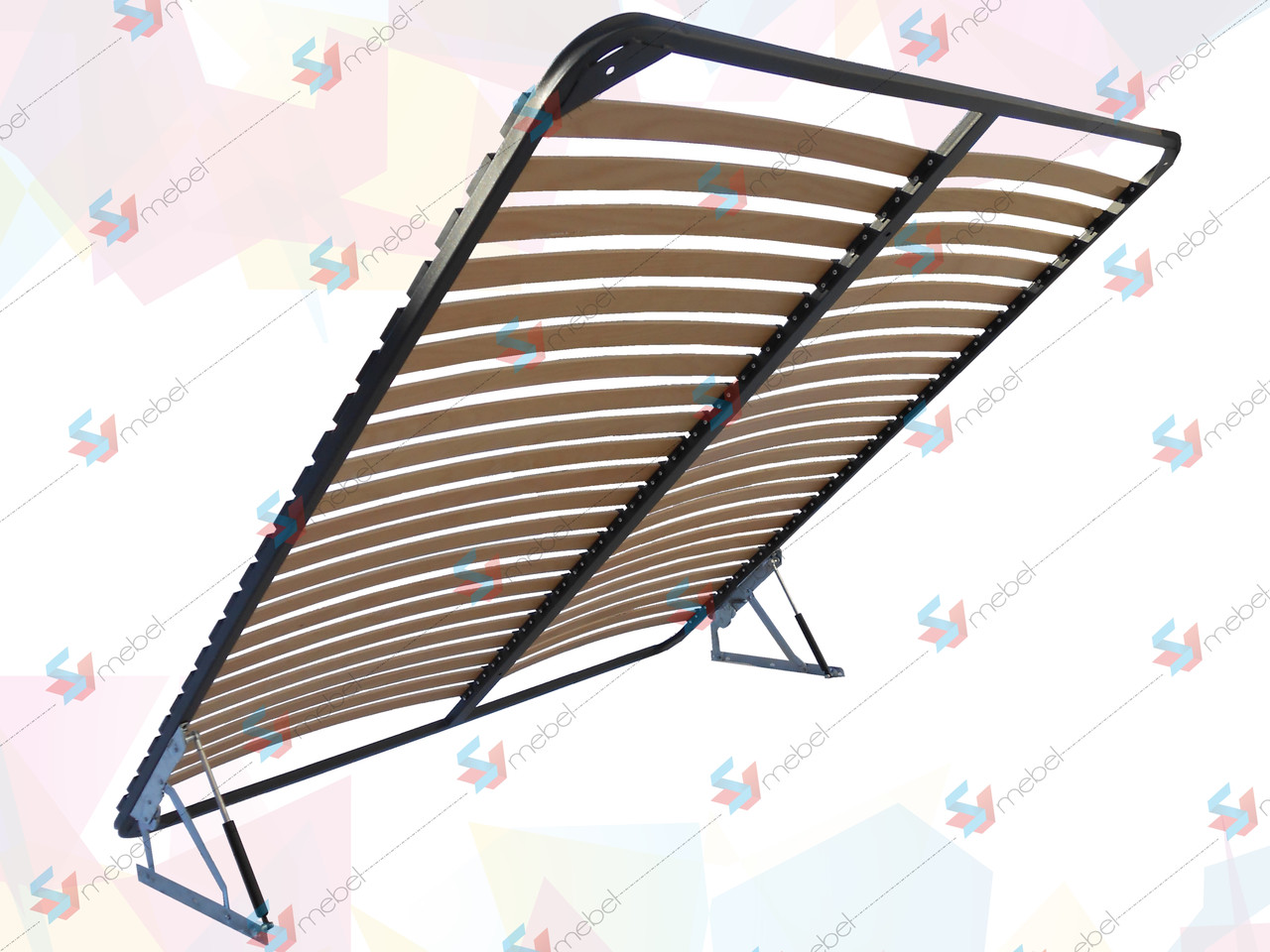 Каркас кровати ортопедический двухспальный с подъемным механизмом(с фиксатором) 2000х1800 мм - SVmebel в Мелитополе