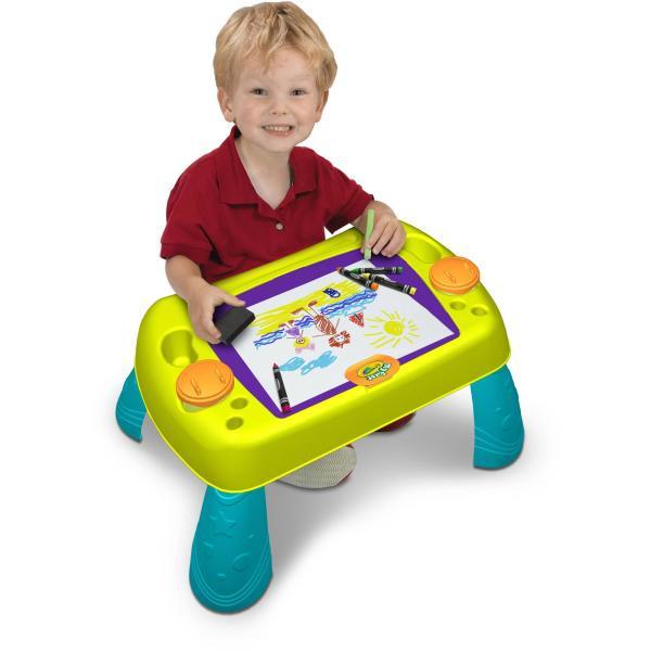 Стол для рисования Crayola Paint N Draw Activity Table