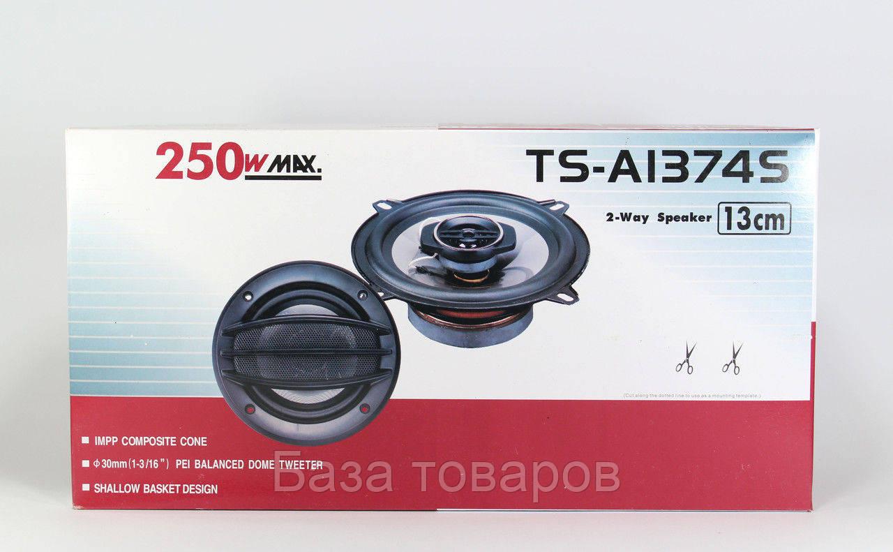Колонки автомобильные TS-1374, автомобильные колонки 13 см, автомобильные акустические динамики - База товаров в Одессе