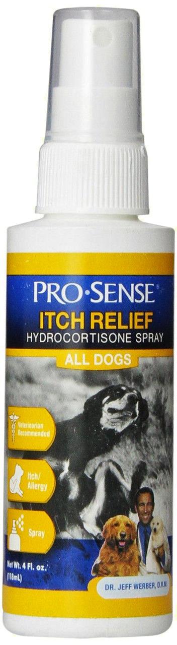 Спрей с гидрокортизоном и алоэ для собак и кошек Pro-Sense Itch Relief