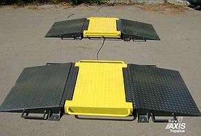 Подкладные автомобильные весы 15 тонн на ось Axis 15-П