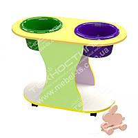 Столик для игры с песком и водой
