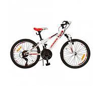 Детский спортивный велосипед 20д PROFI G20A315-L1-UKR-2 красно-белый