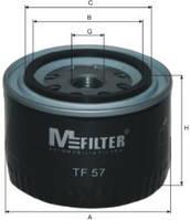Фильтр масляный MFilter MF TF57 Priora