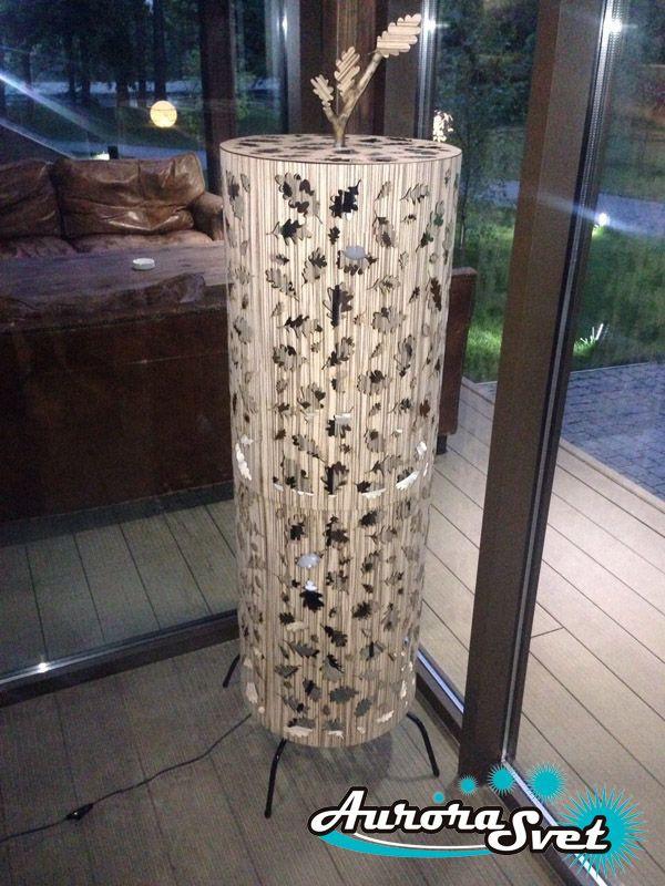Дизайнерский Торшер Dubrovsky. Торшер светодиодный. LED торшер.