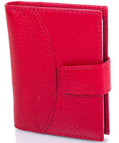 Женская кожаная визитница CANPELLINI (КАНПЕЛЛИНИ) SHI050-1FL Красная