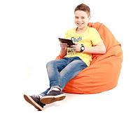 Кресло-мешок, пуф Груша, кожзам ХL 90*90 см