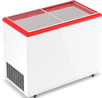 Морозильные лари FROSTOR MAX PRO для мороженного с наклонным гнутым стеклом F 450 E MAX Pro