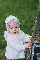 Детская шапка (набор) для девочек КАСПА оптом размер 42-44-46, фото 1