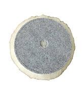 KOCH CHEMIE LAMMFELL-PAD   Меховой круг 135 мм ,белый мягкий, мех ламы