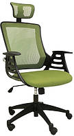 Кресло офисное Special4You MERANO headrest, Green