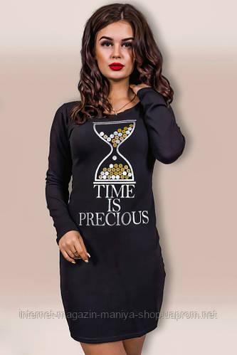 Платье женское часы