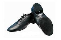 Туфли мужские Универсал - стандарт/латина (черная кожа)