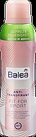 Дезодорант антиперспирант Balea Fit for Sport, 200 мл