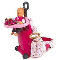 Кукольный набор Smoby Раскладной чемодан Baby Nurse 220316