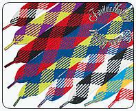 Шнурки широкие (3см) 120см длиной