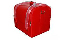 Сумка-чемодан для мастера маникюра/парикмахера/визажиста, красная